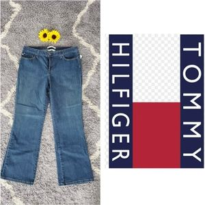 NEW TOMMY HILFIGER LOW RISE BOOT JEANS